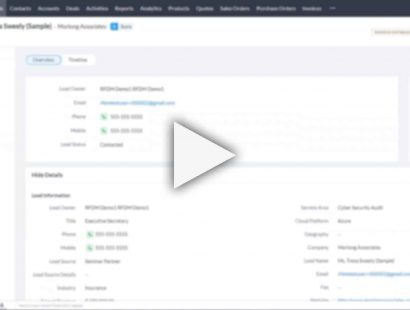 ON DEMAND WEBINAR: Leveraging Zoho's Marketing Automation To Grow Your Business